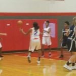 Bonham 8th Grade B Girls Basketball in the Belton Tournament