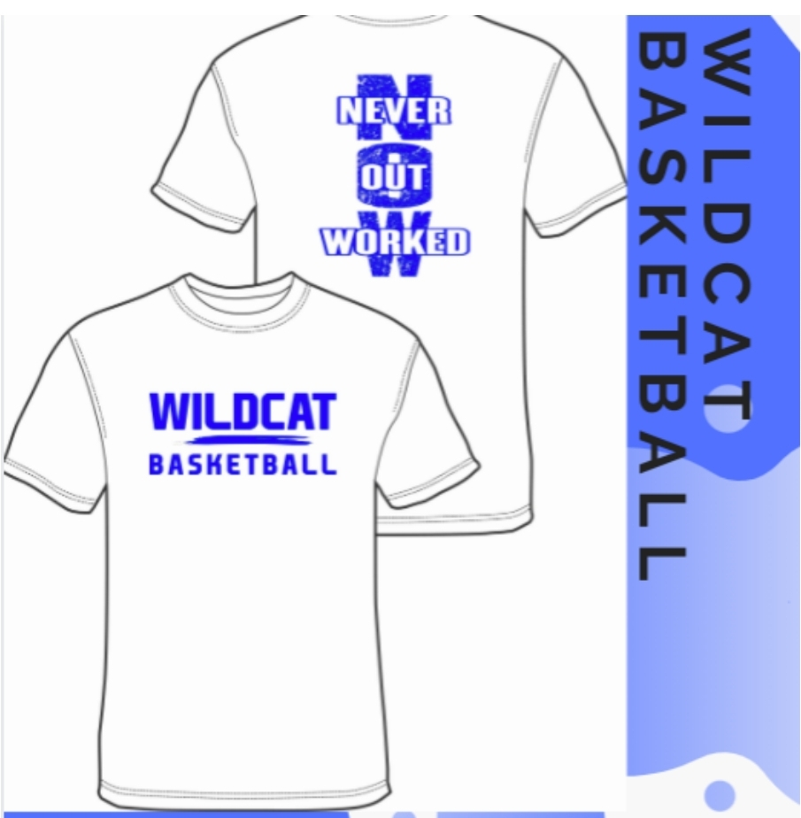 Wildcat Basketball t-shirts for sale