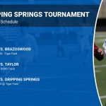Wildcats Soccer to compete in Dripping Spring Tournament