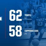 Wildcats topple Cove 62-58