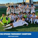 Wildcat Soccer wins championship of the Dripping Springs Tournament