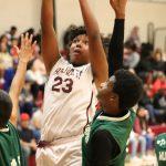 Lamar 7th grade boys basketball results vs. Travis
