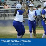 Tem-Cat Softball tryouts set for January 24th