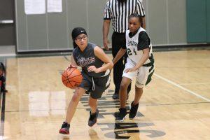 Lamar Girls 8th Grade B Basketball vs. Travis