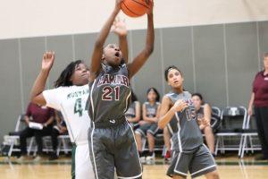 Lamar Girls 7th Grade A Basketball vs. Travis