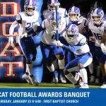Wildcat Football Awards Banquet set for January 23rd