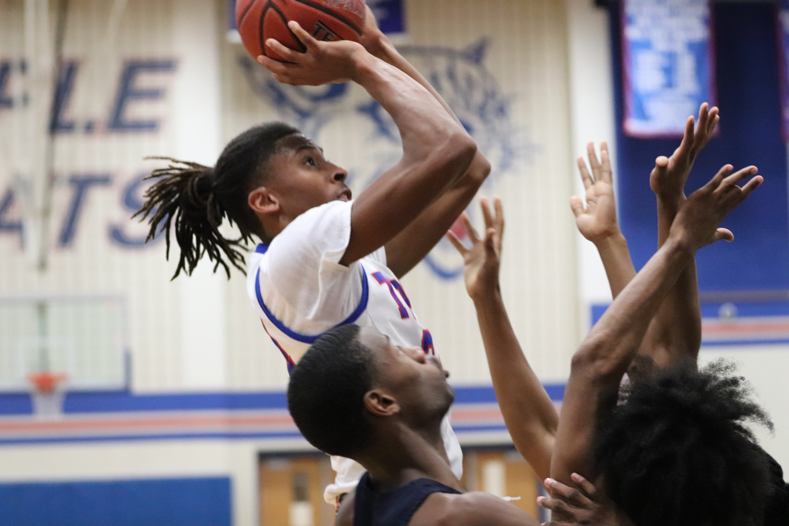 Temple dispatches Shoemaker, sits alone in third in 12-6A