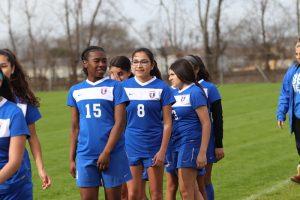 JV White Girls Soccer vs. Robinson