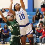 Freshman girls basketball rallies but falls to Ellison