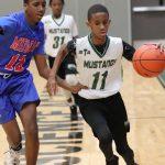 Travis 7th grade boys basketball results vs. Midway