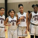 Lamar girls 7th grade basketball results vs. South Belton