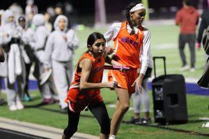 Bonham Girls 7th Grade Track at the Temple Invitational