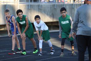 Travis Boys 7th & 8th Grade Track at the Wildcat Invitational