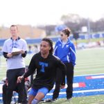 Wildcat Track at the Temple Relays