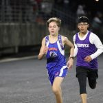 Bonham boys 8th grade track results from the Wildcat Invitational