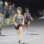 Lamar girls 7th grade track results from the Wildcat Invitational