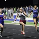 Lamar girls 8th grade track results from the Wildcat Invitational