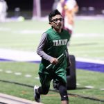 Travis 7th grade boys track results from the Wildcat Invitational