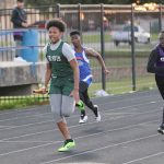 Travis boys 8th grade track results from the Wildcat Invitational