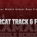 Lamar boys 7th grade track results from the Five Hills Invitational