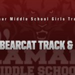 Lamar girls 8th grade track results from the 5 Hills Invitational