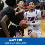 Jaiden Pate selected 1st Team All-District