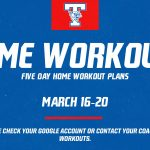 Temple ISD home workout plans