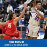 Leon Hudson selected 2nd Team All-District