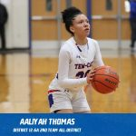 Aaliyah Thomas selected 2nd Team All-District