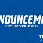 Temple Athletics Update