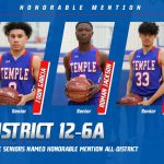 Three Wildcat seniors named Honorable Mention All-District