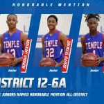 Three Wildcat juniors named Honorable Mention All-District