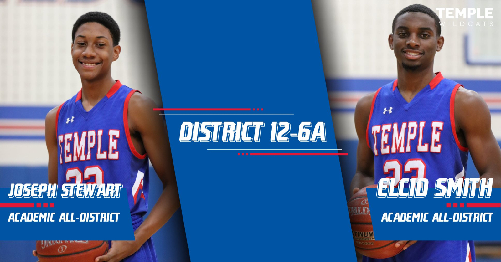Smith,Stewart earn academic all-district