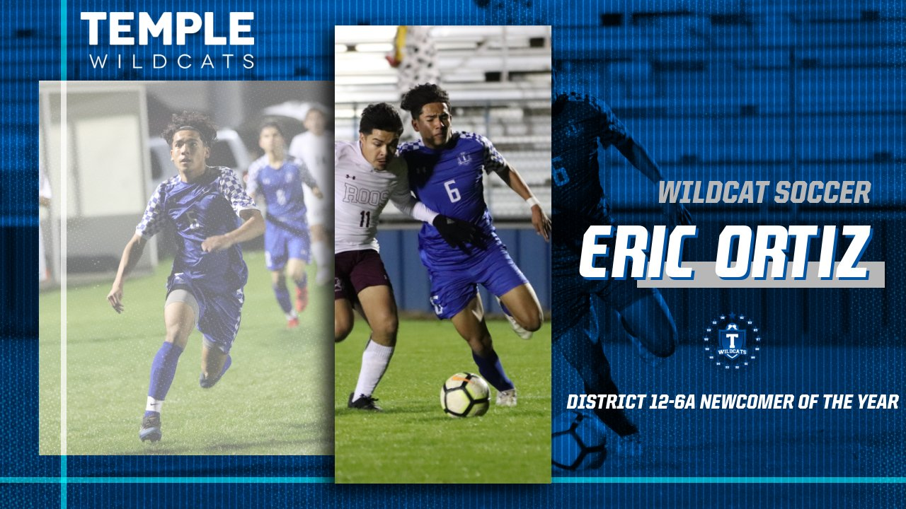 Eric Ortiz named 12-6A Newcomer of the Year