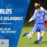 Carlos Hernandez-Velasquez selected 2nd Team All-District