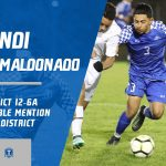 Endi Aguilar-Maldonado selected Honorable Mention All-District