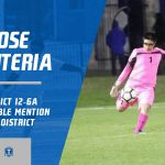 Jose Renteria selected Honorable Mention All-District