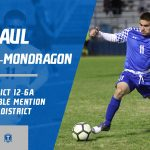 Raul Rebollar-Mondragon selected Honorable Mention All-District