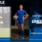 Grace Mungia selected 12-6A Co-Goalkeeper of the Year