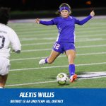 Alexis Willis selected 2nd Team All-District