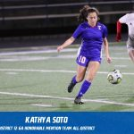 Kathya Soto selected Honorable Mention All-District