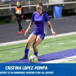 Cristina Lopez-Pompa selected Honorable Mention All-District