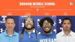 Bonham Middle School Boys Coaching Staff