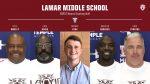 Lamar Middle School Boys Coaching Staff