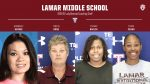 Lamar Middle School Girls Coaching Staff