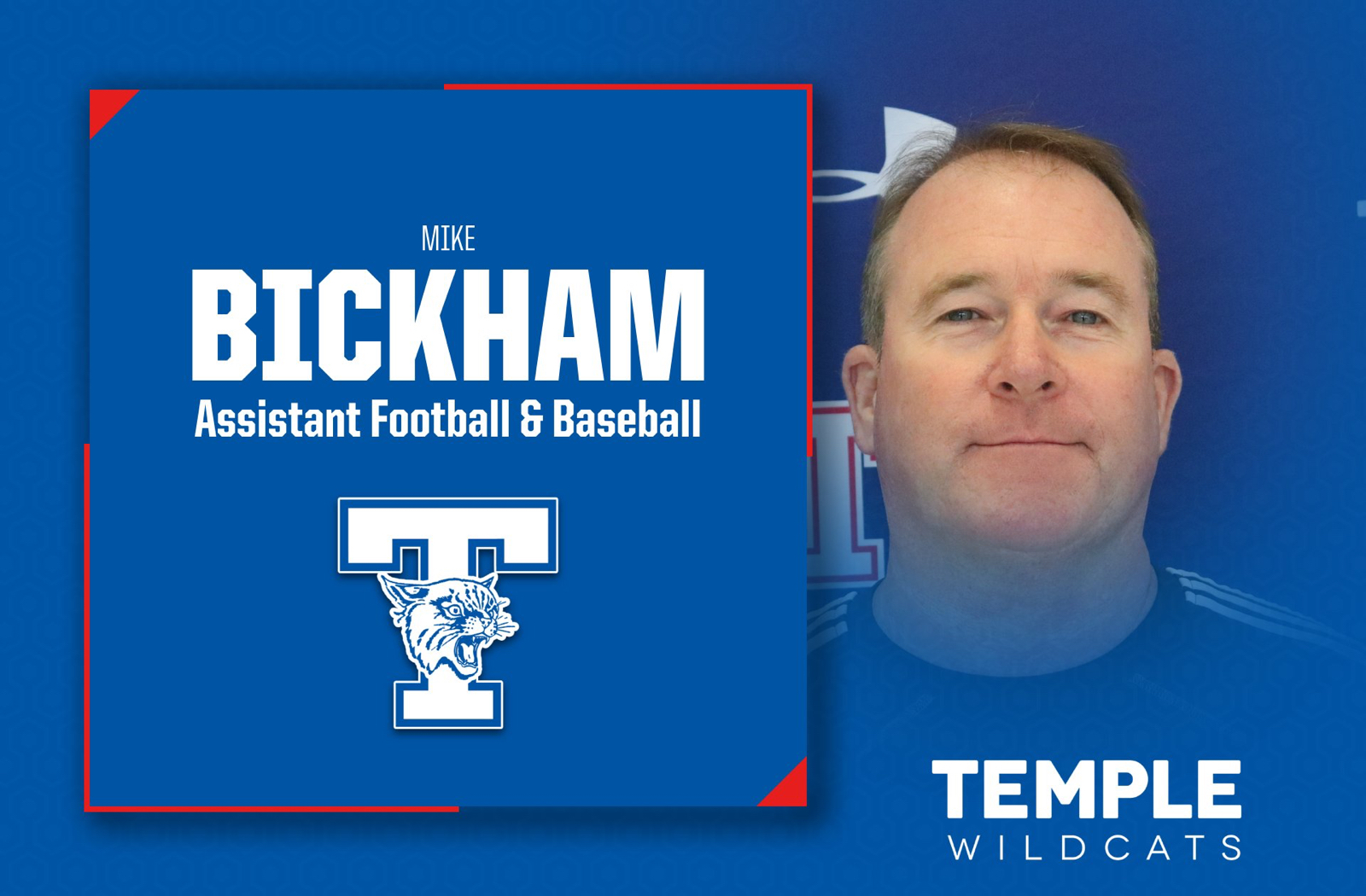 Mike Bickham – New Assistant Football and Baseball Coach