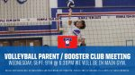 Volleyball Parent/Booster Club Meeting