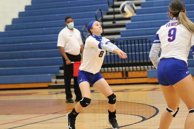 Tem-Cat Volleyball vs. Waco – Games 3 and 4