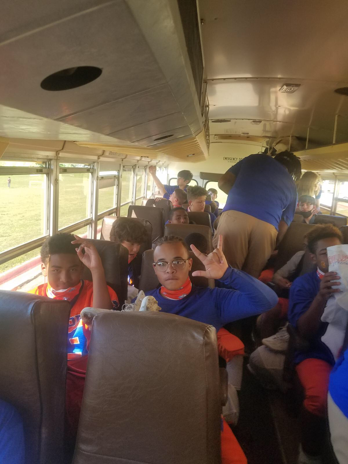Bonham 8th Grade Football Midway Trip