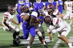Magnolia West scores in final minute to top JV Blue football 6-0